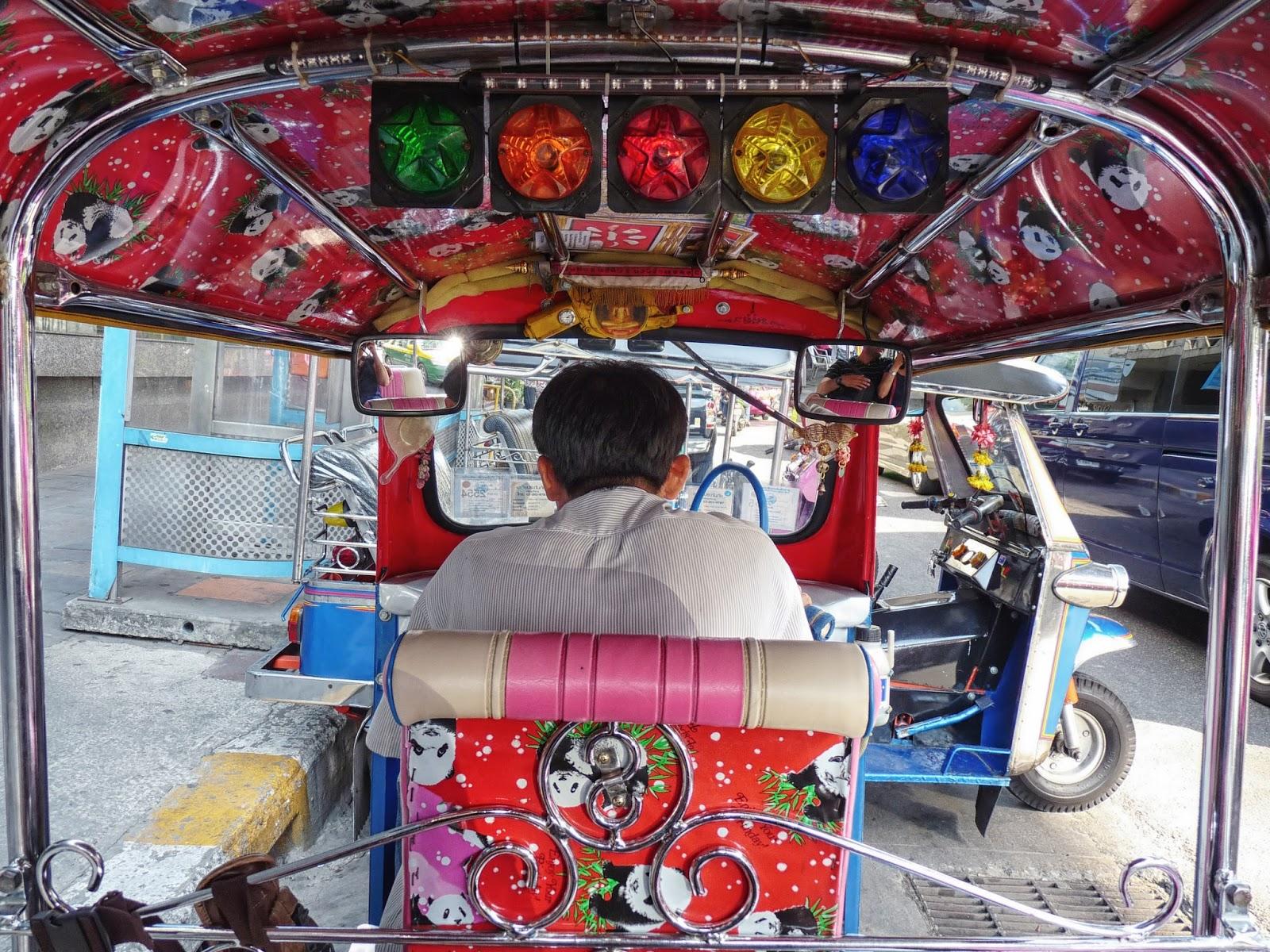 Tuk Tuk Ride Thailand