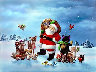 Gambar Mewarnai Perayaan Natal | Mewarnai Gambar