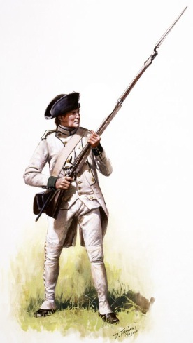 how to draw a revolutionary war soldier