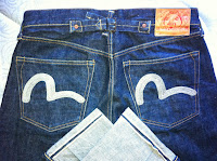 evisu jeans silver size32-made in italy