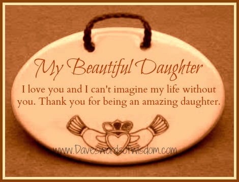I Love You Quotes To My Daughter : daughter i love you and i can t imagine my life without you thank you ...