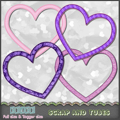Heart Frames (CU4CU) .Heart+Frames_Preview_Scrap+and+Tubes