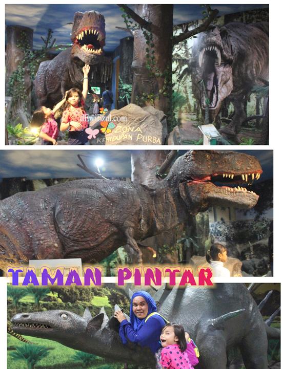 Dinosaurus di Jogjakarta