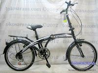 Sepeda Lipat Viva Cycle Twist 6 Speed 20 Inci