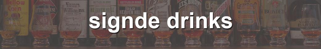 signde drinks