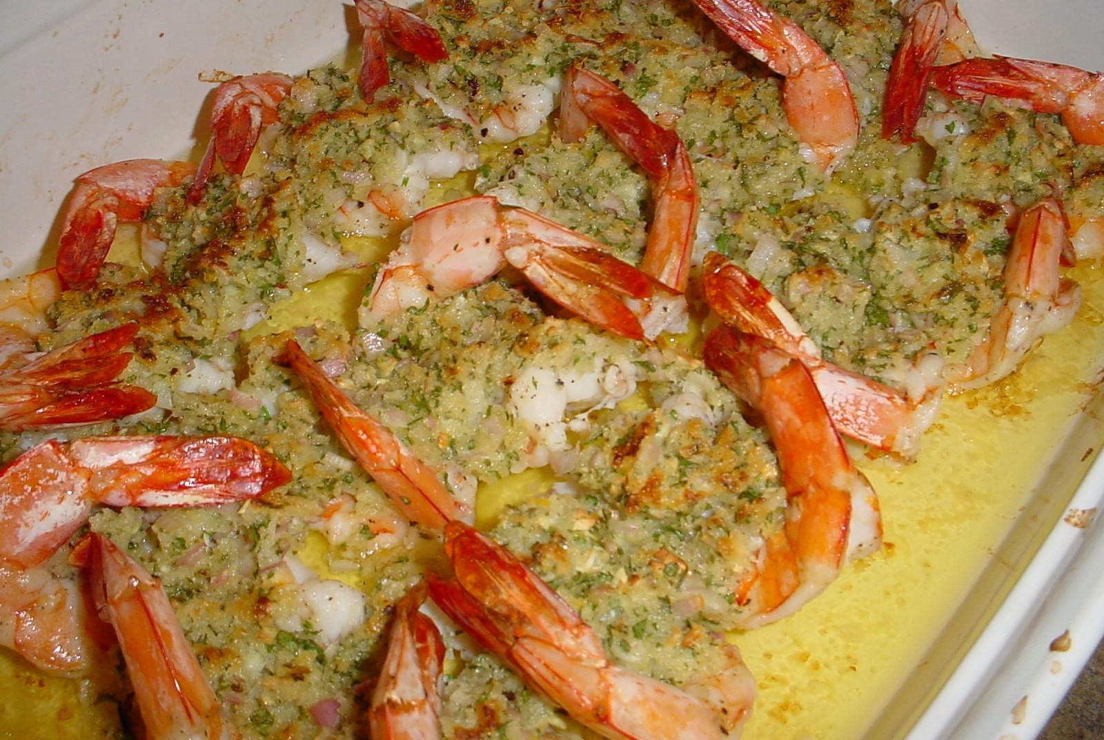 Kearby's Kitchen: Baked Shrimp Scampi