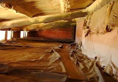 Aislamiento del espacio bajo cubierta.