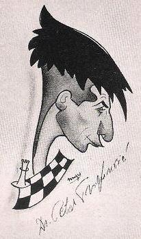 Caricatura de Petar Trifunovic