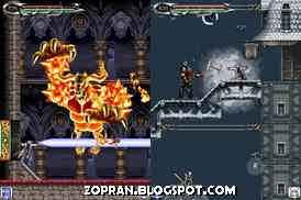 castlevania dawn of sorrow java games