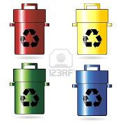 RECICLAJE verde concepto de reciclaje