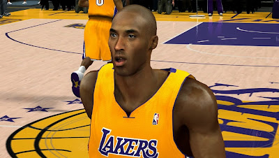 NBA 2K14 Kobe Bryant Cyberface Patch