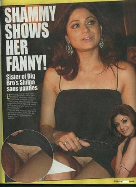 Shamita Shetty No Panties 92