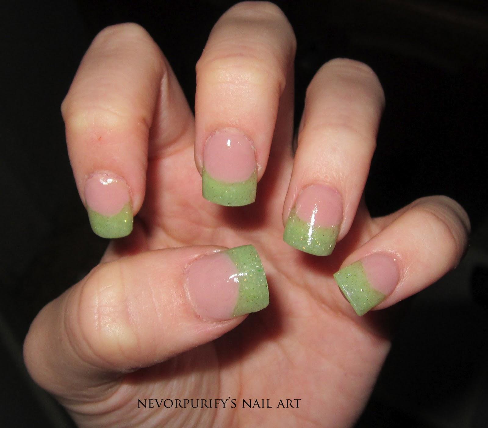 Nail School - Day 33 | Nevorpurify\'s Nail Art