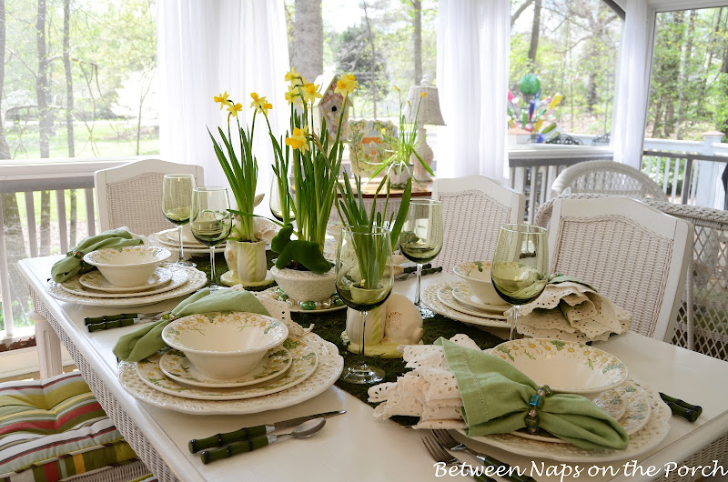 Inspiration For Easter Tablescapes