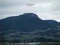 Zoom al Puig d'Aguilera