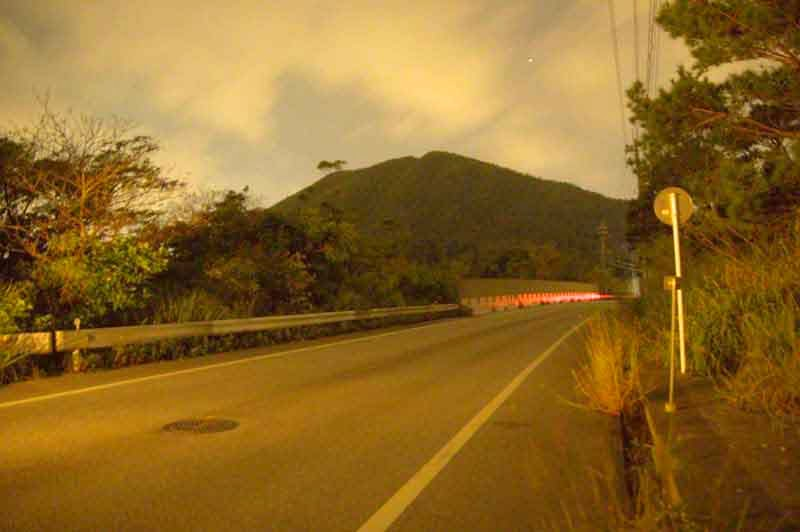 long exposure,HWY 71, night, mountain, star