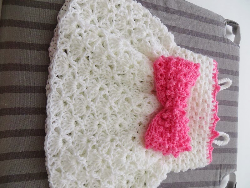 Crochet Dreamz: The Little Bow Peep Dress, Crochet Baby ...