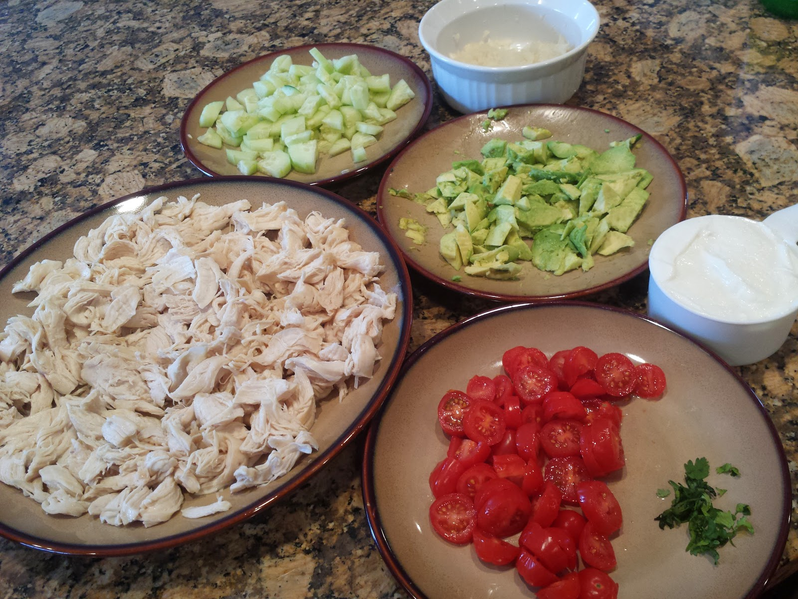 Deidra Penrose, Chicken salad, Cucumber and Avocado salad, clean chicken salad, healthy chicken wrap, weight loss, clean eating, p90X3 meal plan, T25 meal plan, Team beach body, 6 star elite diamond beach body coach, healthy lunch ideas