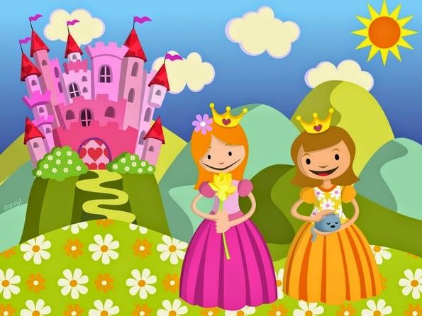 Princesas Daiana y Coralia