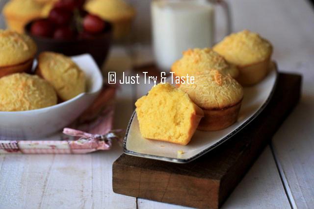 resep cara membuat muffin keju cheddar yang sedap