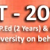 Telangana PECET Notification 2015 Apply Online at www.tspecet.org