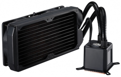 COOLER MASTER EISBERG PRESTIGE 240L - CPU Cooler review