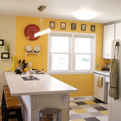 Dise os y tipos de pisos para cocina para que elijas el for Colores para cocina comedor