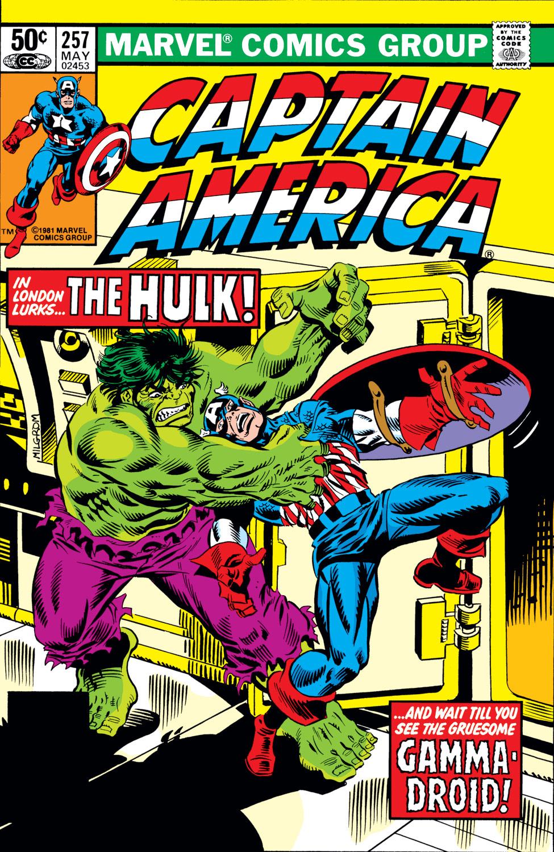 Captain America (1968) Issue #257 #172 - English 1