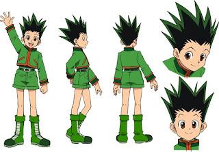 Rambut Anime Gon (Hunter x Hunter) Keren Banget