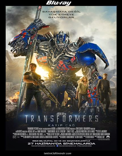 Transformers: Kayıp Çağ: Transformers: Age of Extinction (2014) afis