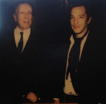 Jorge Luis Borges y Blas Vidal - Mayo de 1981