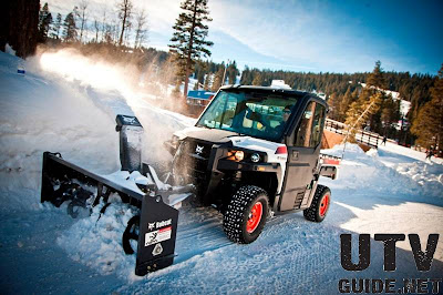 Bobcat 3650 Utility Vehicle with Snow Blower