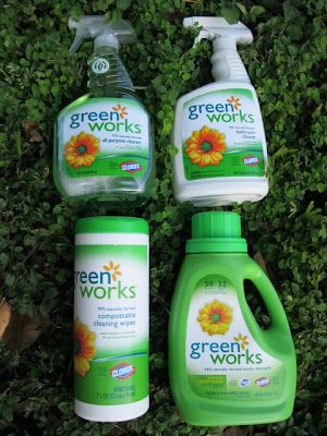 Greenworks cleaning products