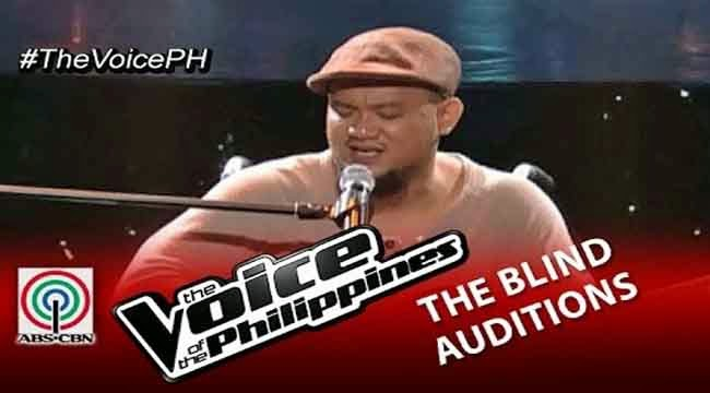 Video: Karlo Mojica sings 'Bulag, Pipi At Bingi' on The Voice of the Philippines Season 2 Blind Audition