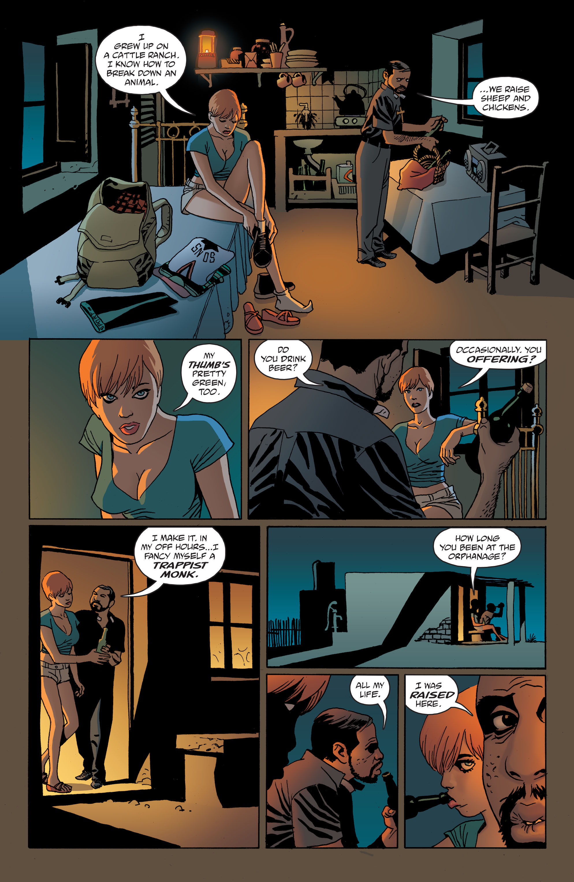 100 Bullets: Brother Lono Full Page 44
