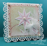 Our Daily Bread Designs, Mini Tags, Silk Stars, Splendorous Stars Dies, Mini Tags Dies, Ornate Borders and Flowers Dies, Fancy Ornaments Dies, Christmas Paper Collection 2014, Designed by Paula Bigelow