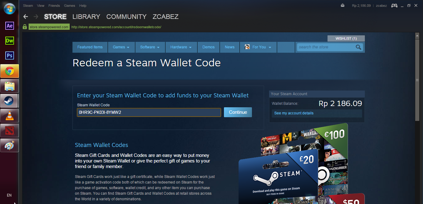 how to get free steam wallet