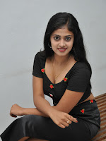 Megha Sri sizzling at Kaki press meet-cover-photo