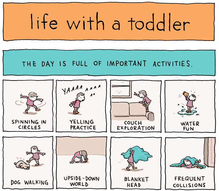 INCIDENTAL COMICS Life With A Toddler Extraordinary Toddler Quotes