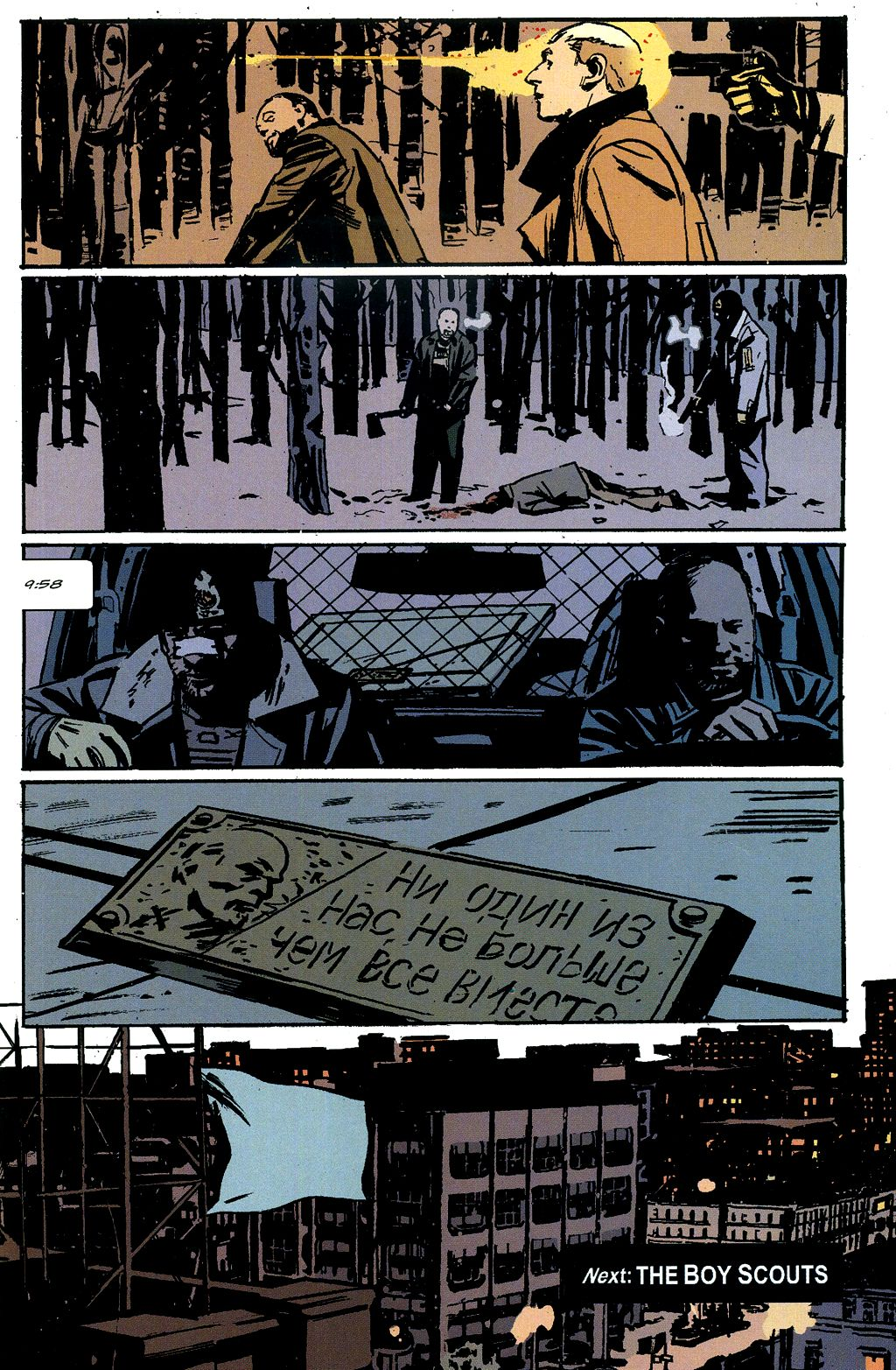 Read online The Winter Men comic -  Issue #4 - 22