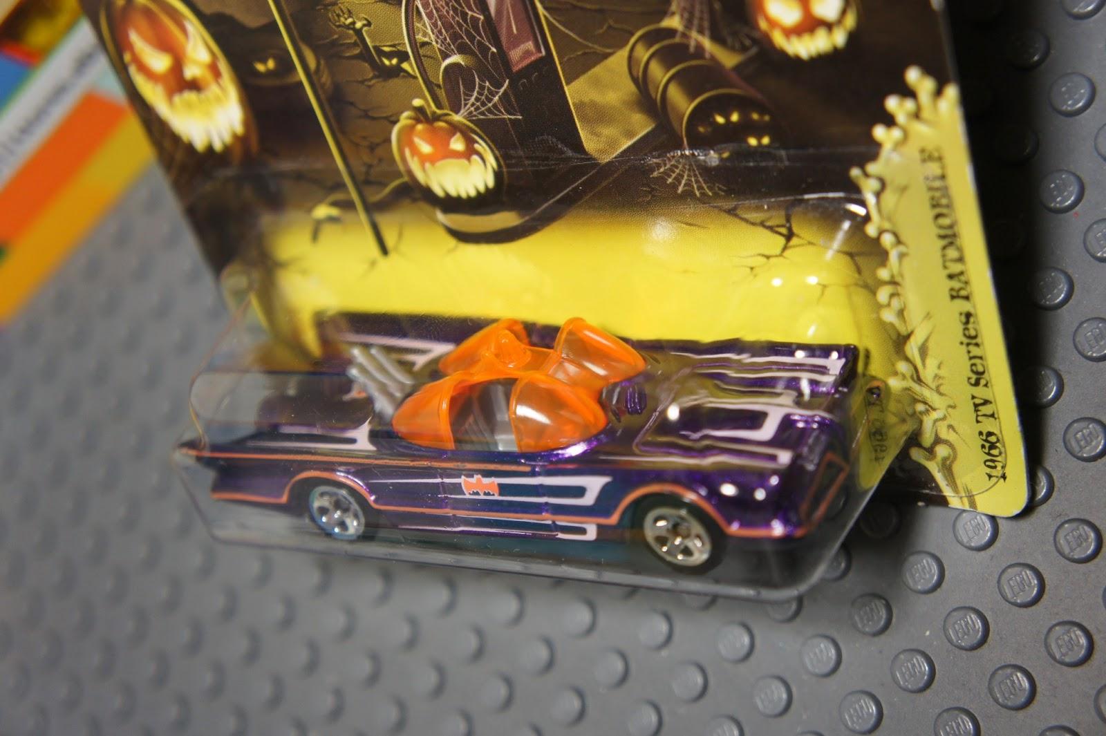 Hot Wheels Purple 1966 TV SERIES BATMOBILE Batman Diecast Car Happy