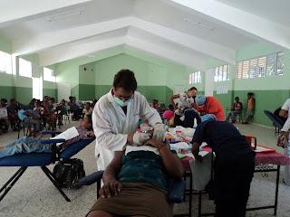 UASD realiza operativo médico en barrios de San Cristóbal