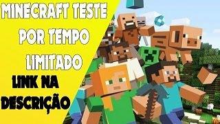 Minecraft baixe e teste por tempo limitado!
