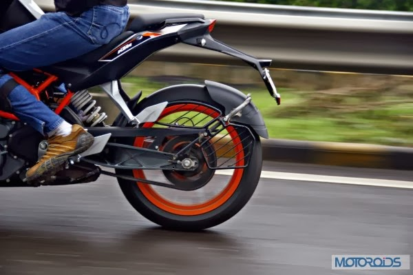 KTM 390 Duke India road test review 10