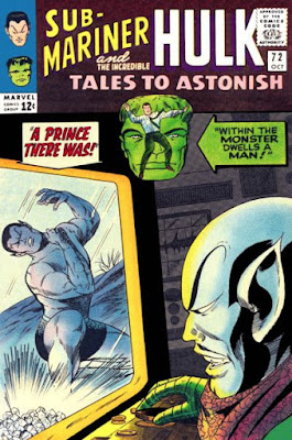 Tales to Astonish #72, Sub-Mariner