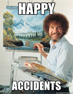 Happy Accidents, Bob Ross, happy, accidents, painter