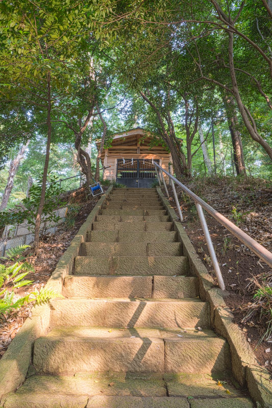 小金井市、八雲神社の写真