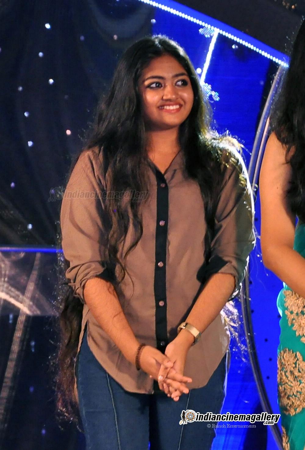 Malayalam actress Shalin at Amrita TV Film Awards 2013 held at Cochin