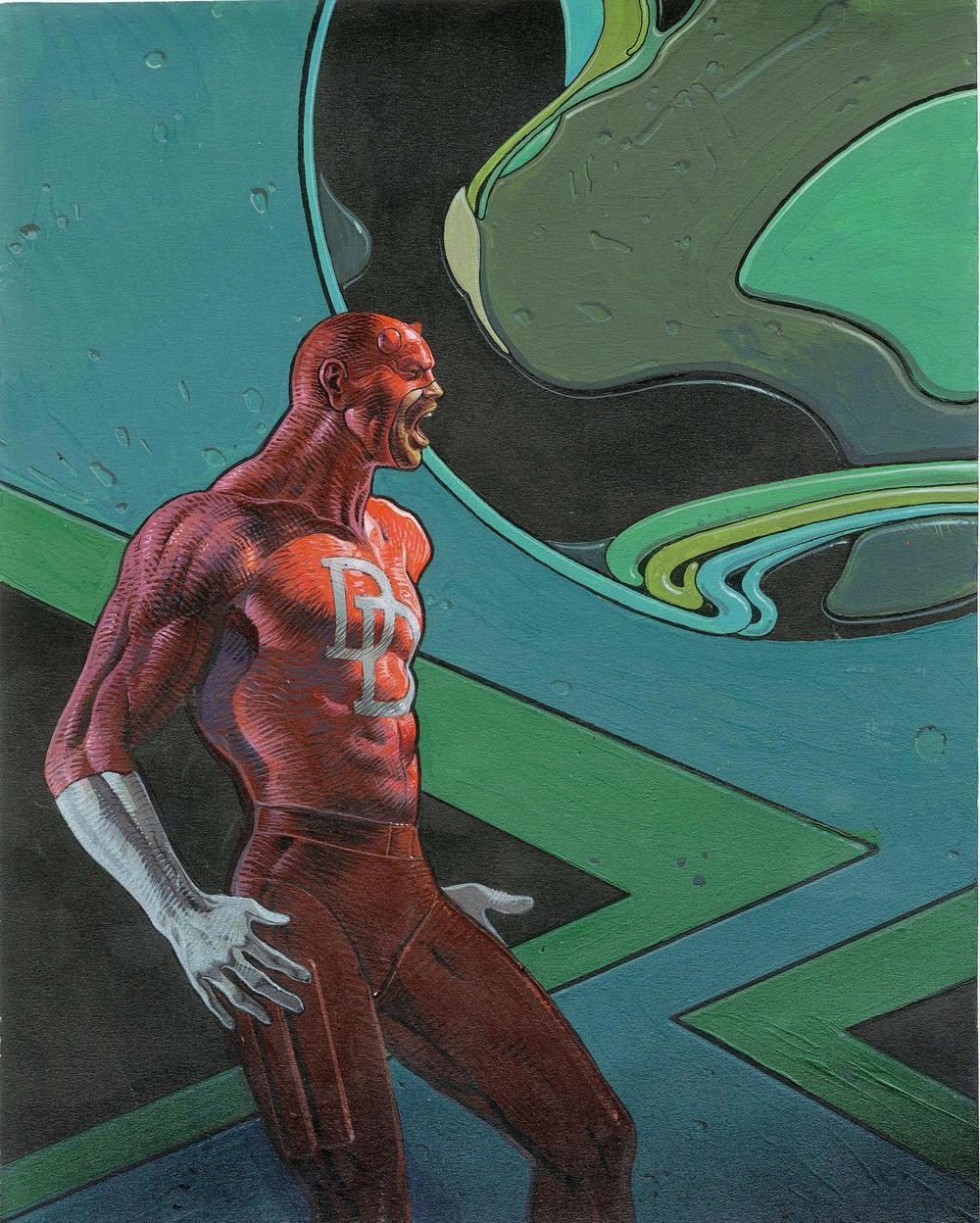 Galería de arte: Solo calidad Moebius+-+Daredevil
