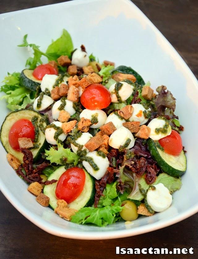 #1 Mozzarella Salad - RM26 (small), RM42 (large)